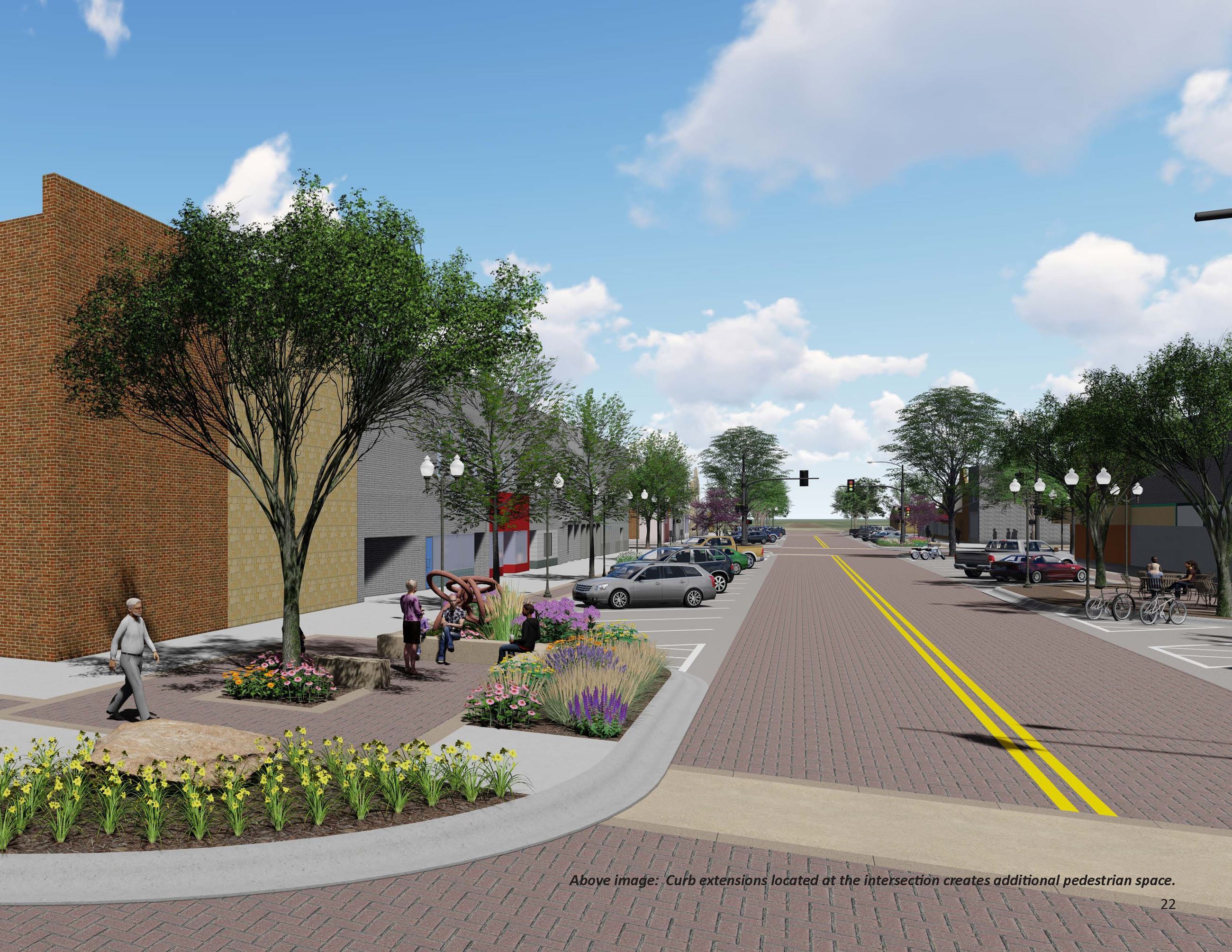 Proposed Streetscape Design